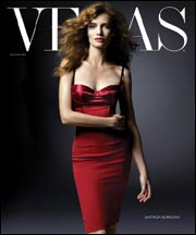 Saffron Burrows Vegas Magazine November 2007