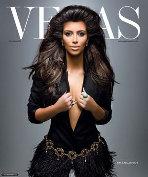 Kardashian Magazine on Kim Kardashian Vegas Magazine November 2008