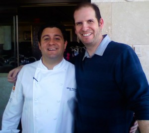 With Chef Geno Bernardo, who unfortunately does not cook at Olive Garden.