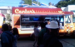Canter's Deli truck...matzoh balls on wheels