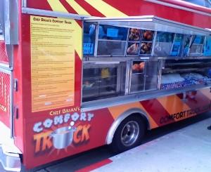 Chef Brian's Comfort Truck