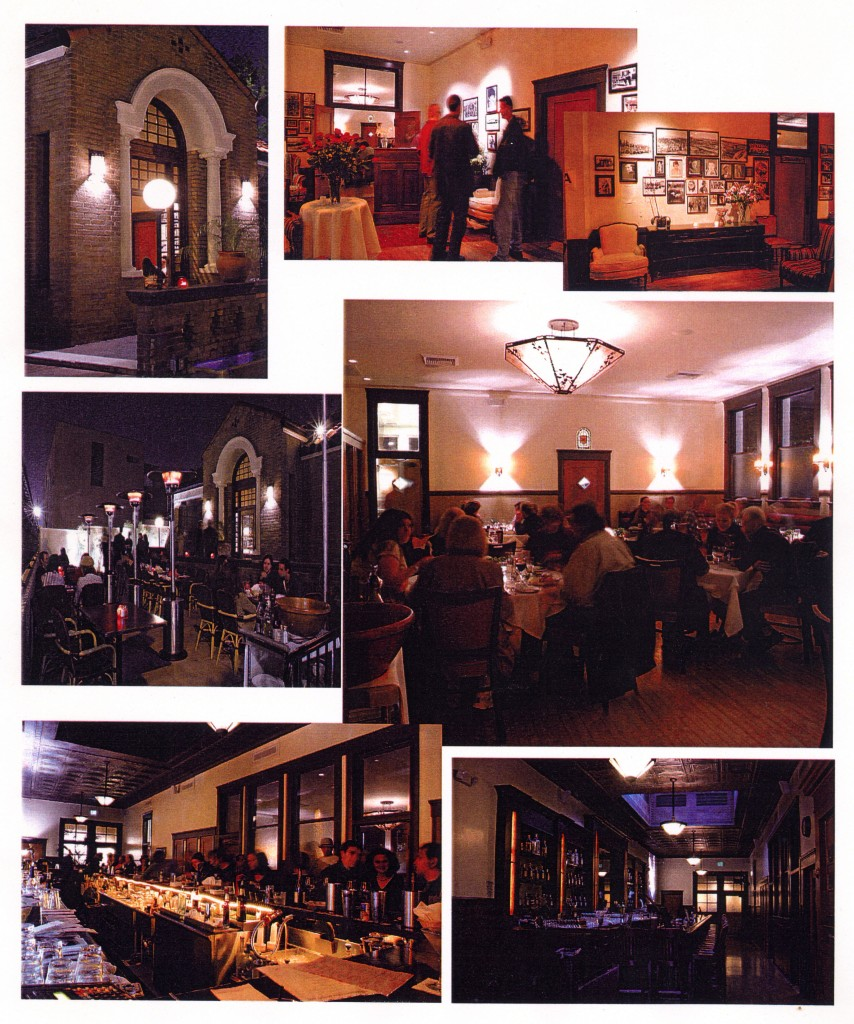 Views of Edendale Grill taken by E. C. Gladstone