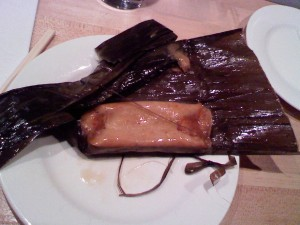 tamale, unwrapped