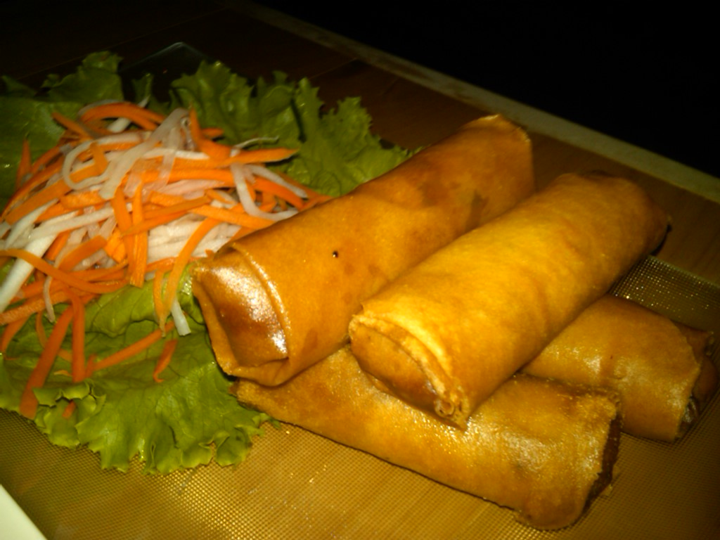 Viet spring rolls (as if you couldn't guess)