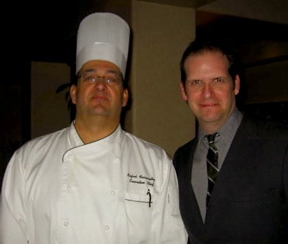With Indian Ridge Country Club Chef Ralph Fernandez