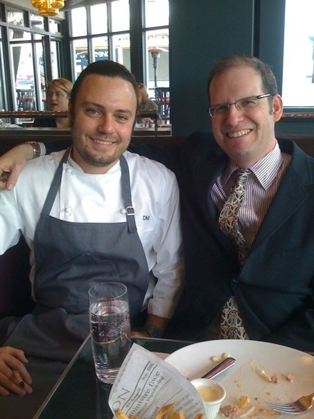 With Executive Chef David Myers