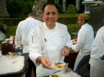 Chef Carlos Guia of Wynn Country Club. Eat anything he offers you, even if it's a cracker.