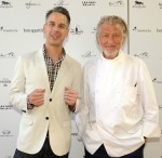 I'm just guessing Pierre Gagnaire is on Team Fairchild? I KEED I KEED (Official photo by Denise Trucello)