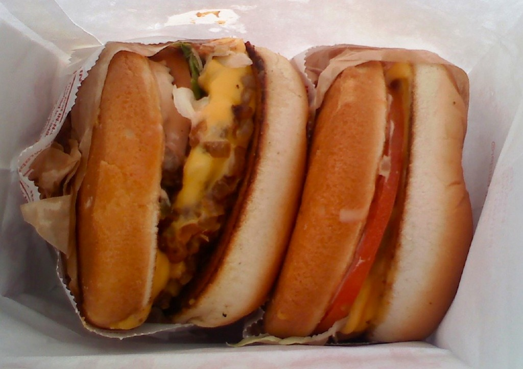 Research: One Animal Style, One Veggie
