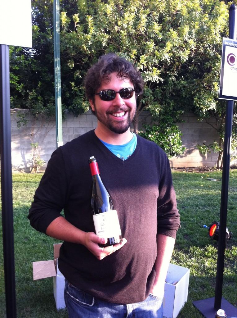La Fenetre's winemaker Josh Klapper