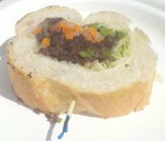 Starry Kitchen bahn mi sample... a lot of taste in a little package