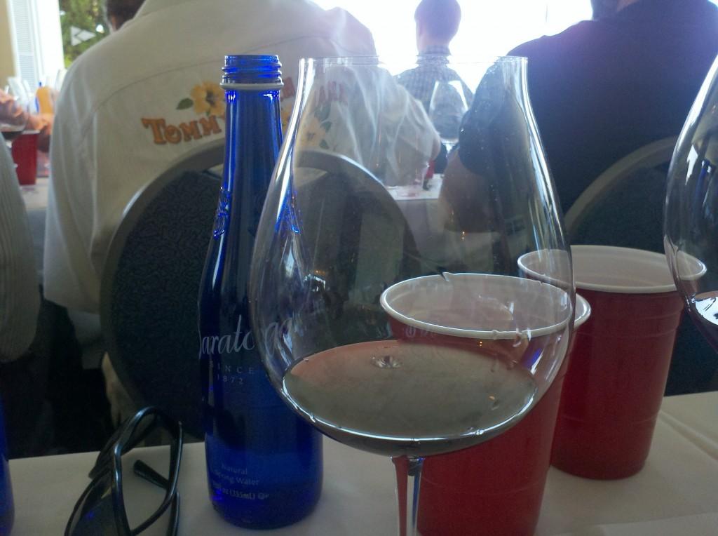 First glass, first wine