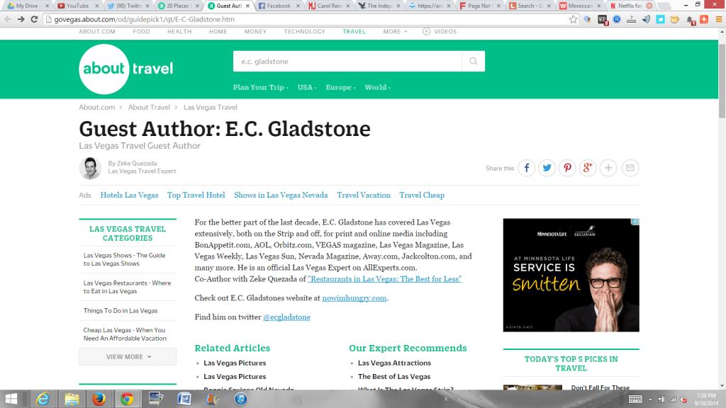 About.com guest contributor E.C. Gladstone