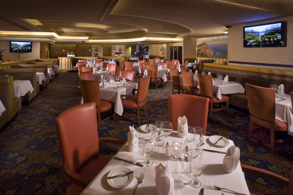 The Flame Steakhouse (courtesy El Cortez)