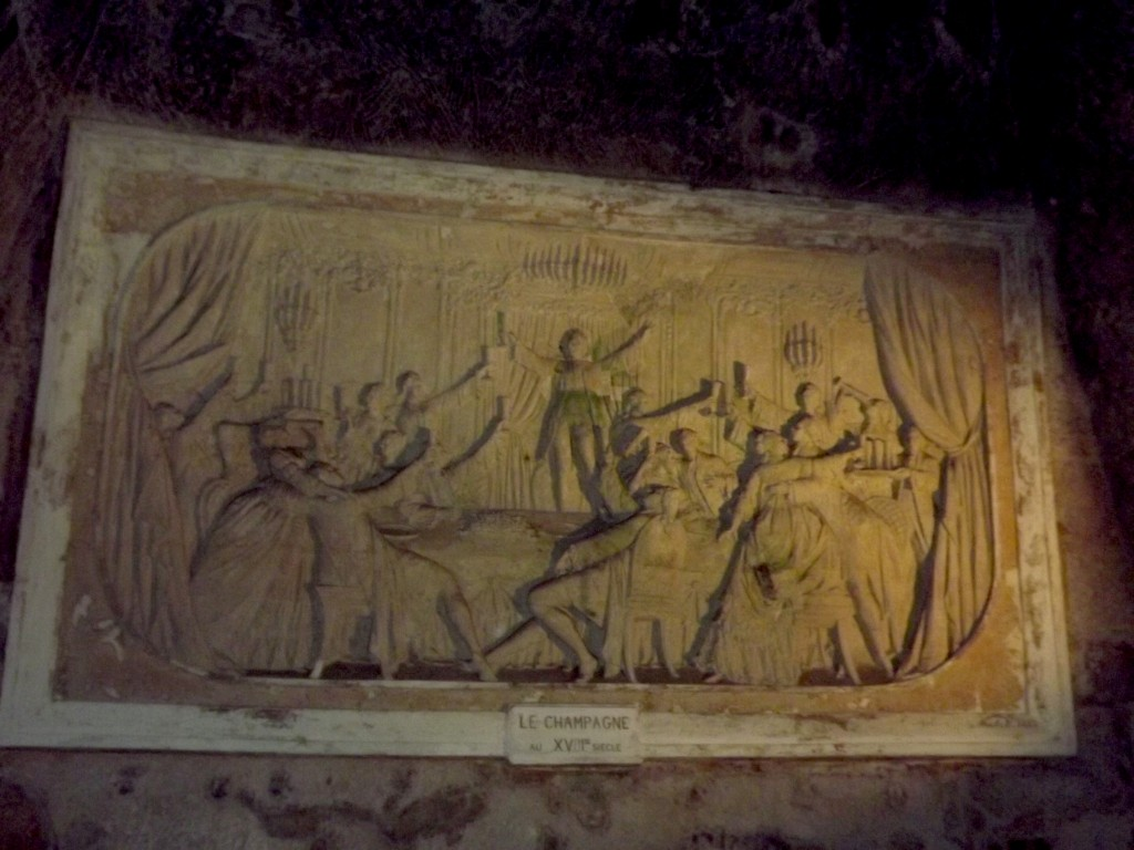 ChampagnePommeryCaveFrieze